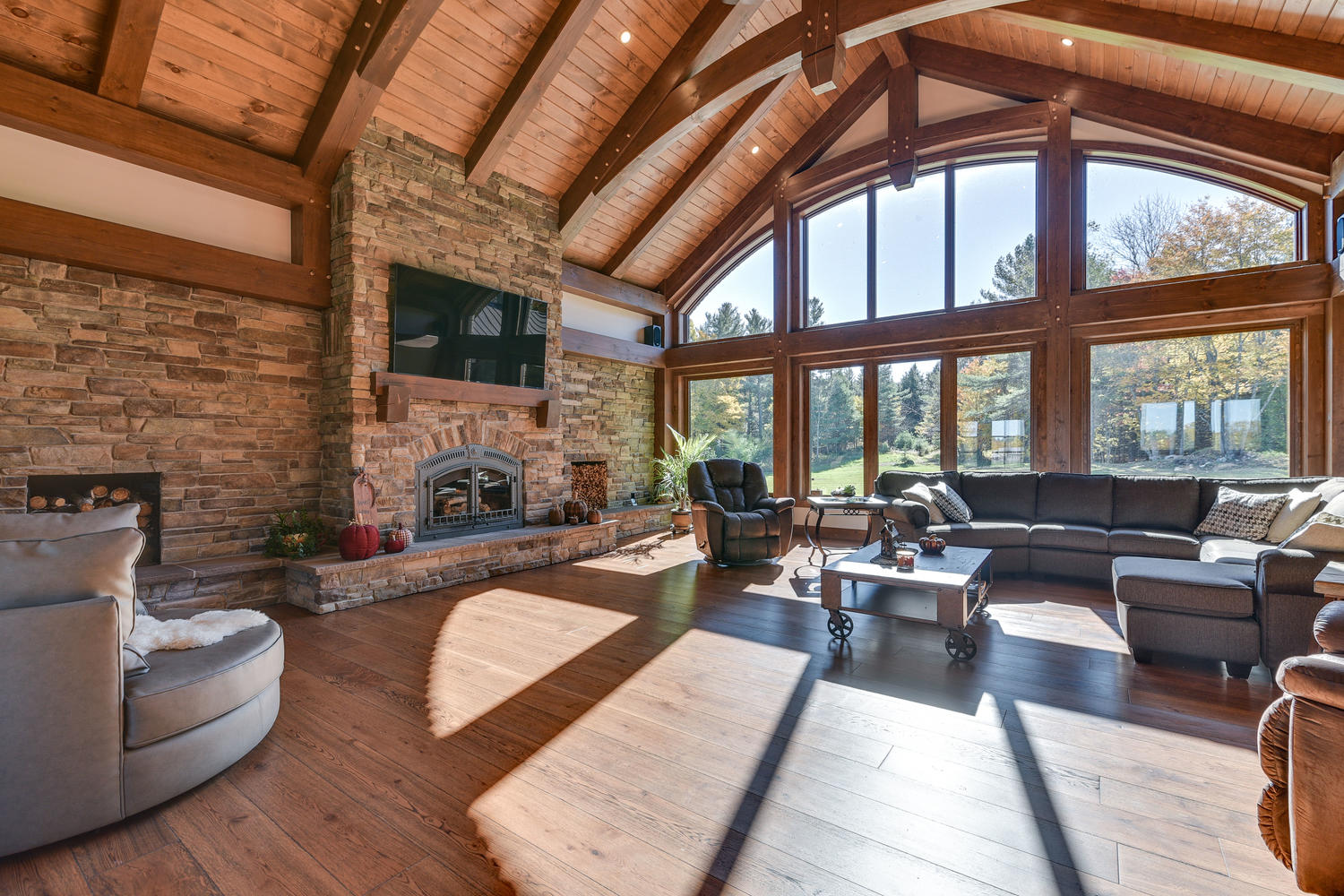 Fireplace project by Kelly Homes Inc