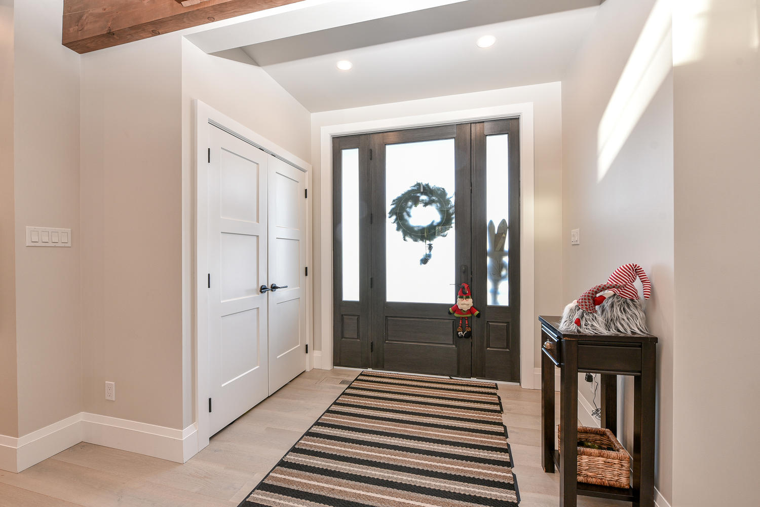 Entryway - Eclectic Country Project In Renfrew