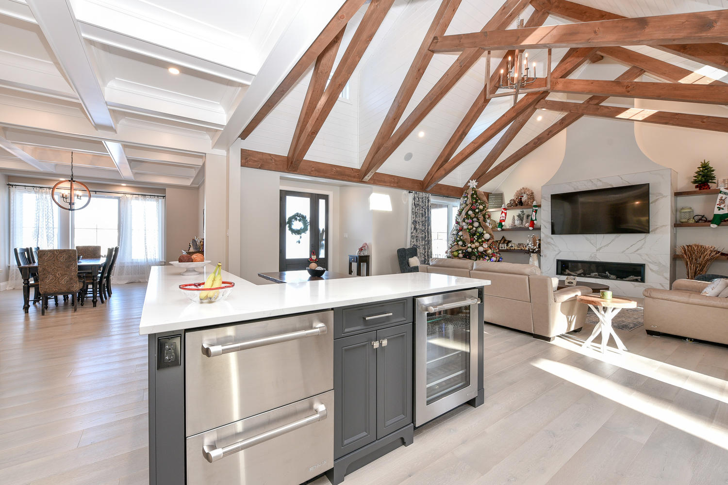 Kitchen - Eclectic Country Project In Renfrew