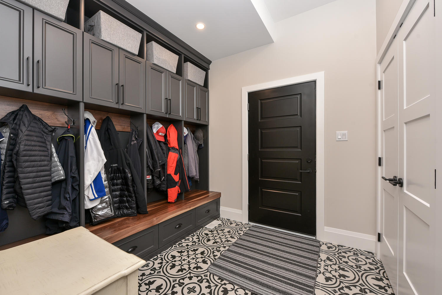 Mudroom - Eclectic Country Project In Renfrew