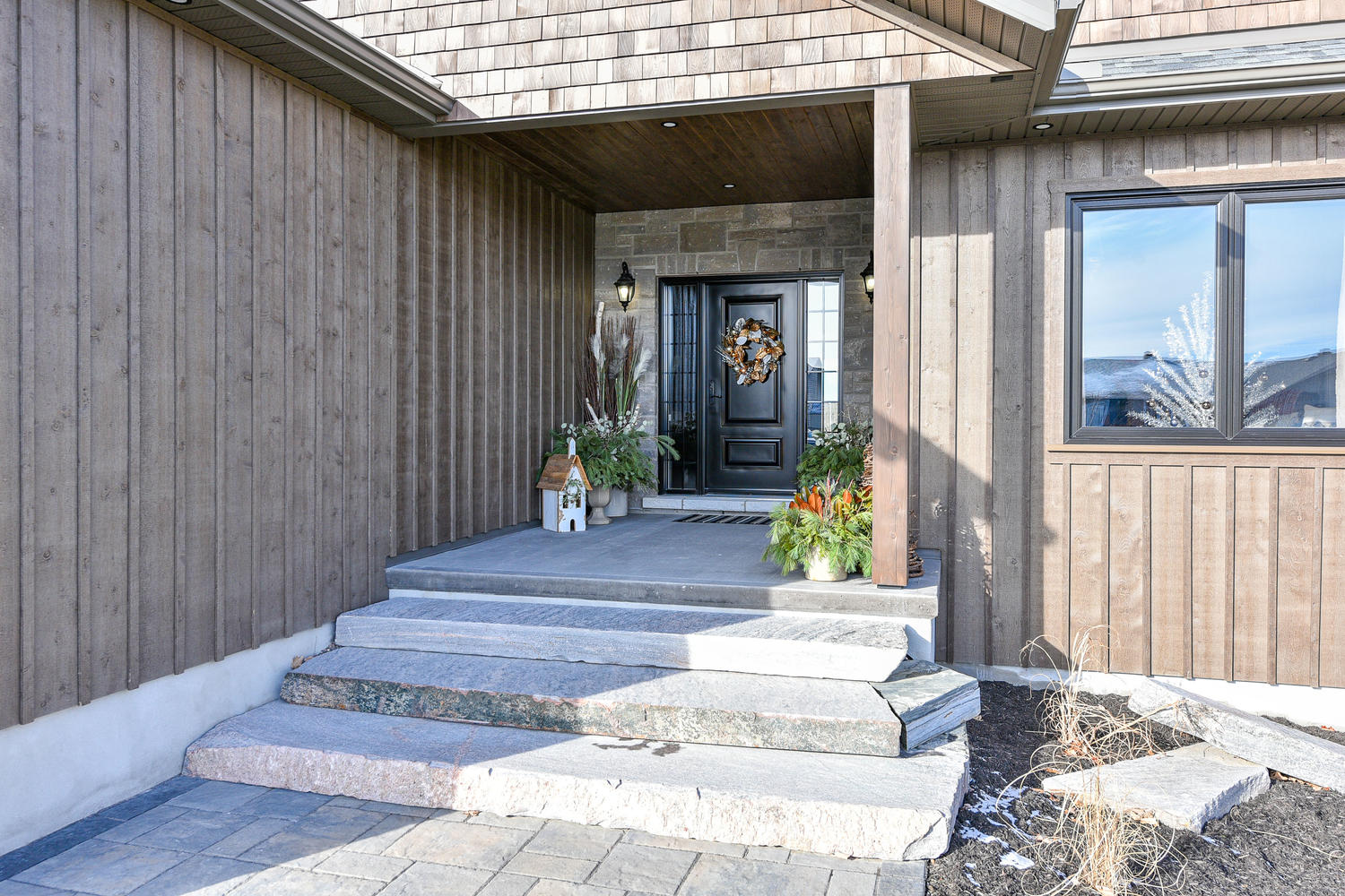 Front Entrance - Traditional Family Home Project In Renfrew by Kelly Homes Inc.