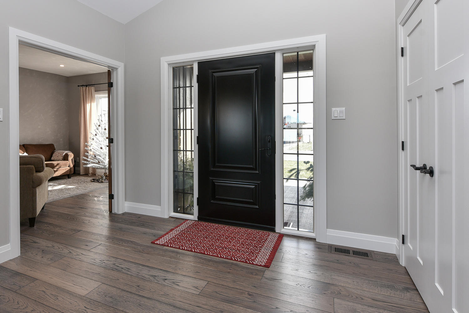Entryway - Traditional Family Home Project In Renfrew by Kelly Homes Inc.