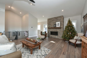 Living Room - Traditional Family Home Project In Renfrew by Kelly Homes Inc.