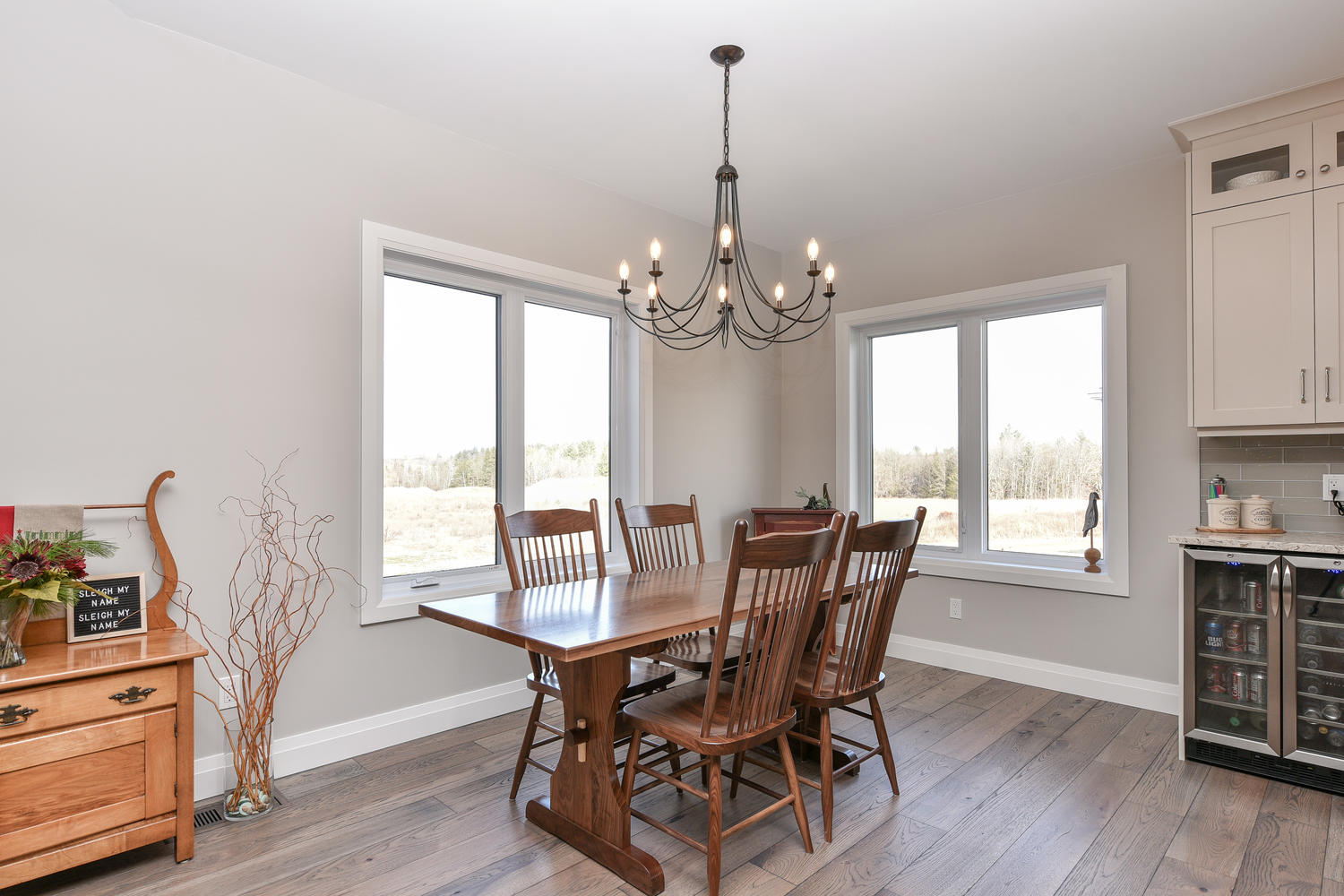 Dining Room - Traditional Family Home Project In Renfrew by Kelly Homes Inc.