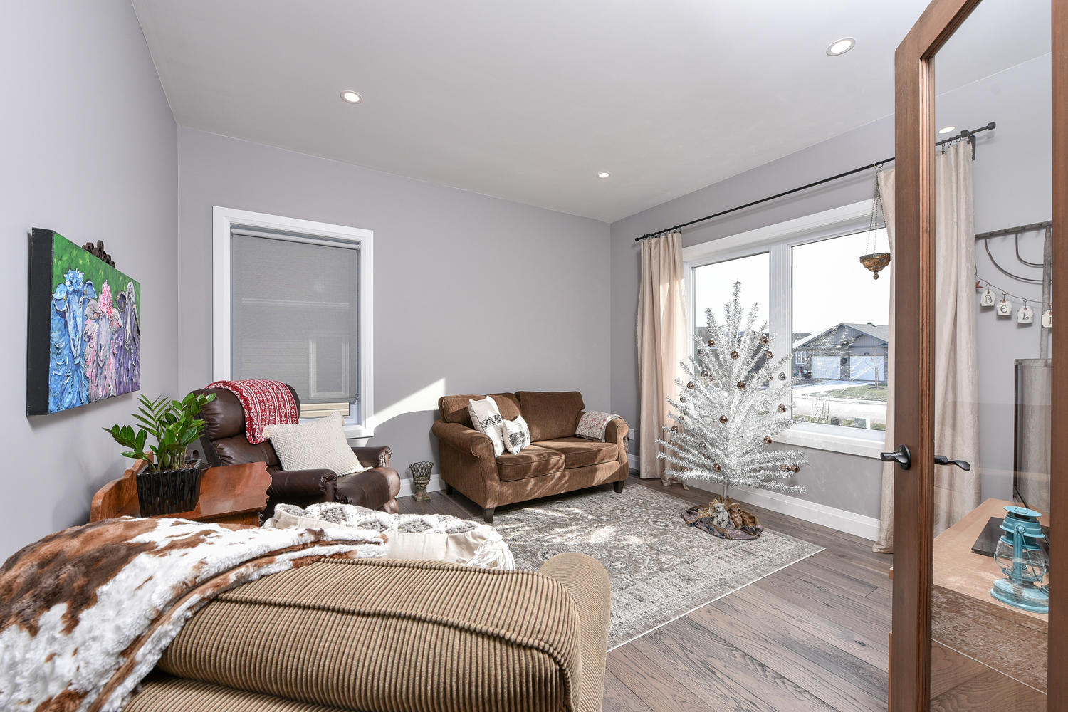 Family Room - Traditional Family Home Project In Renfrew by Kelly Homes Inc.
