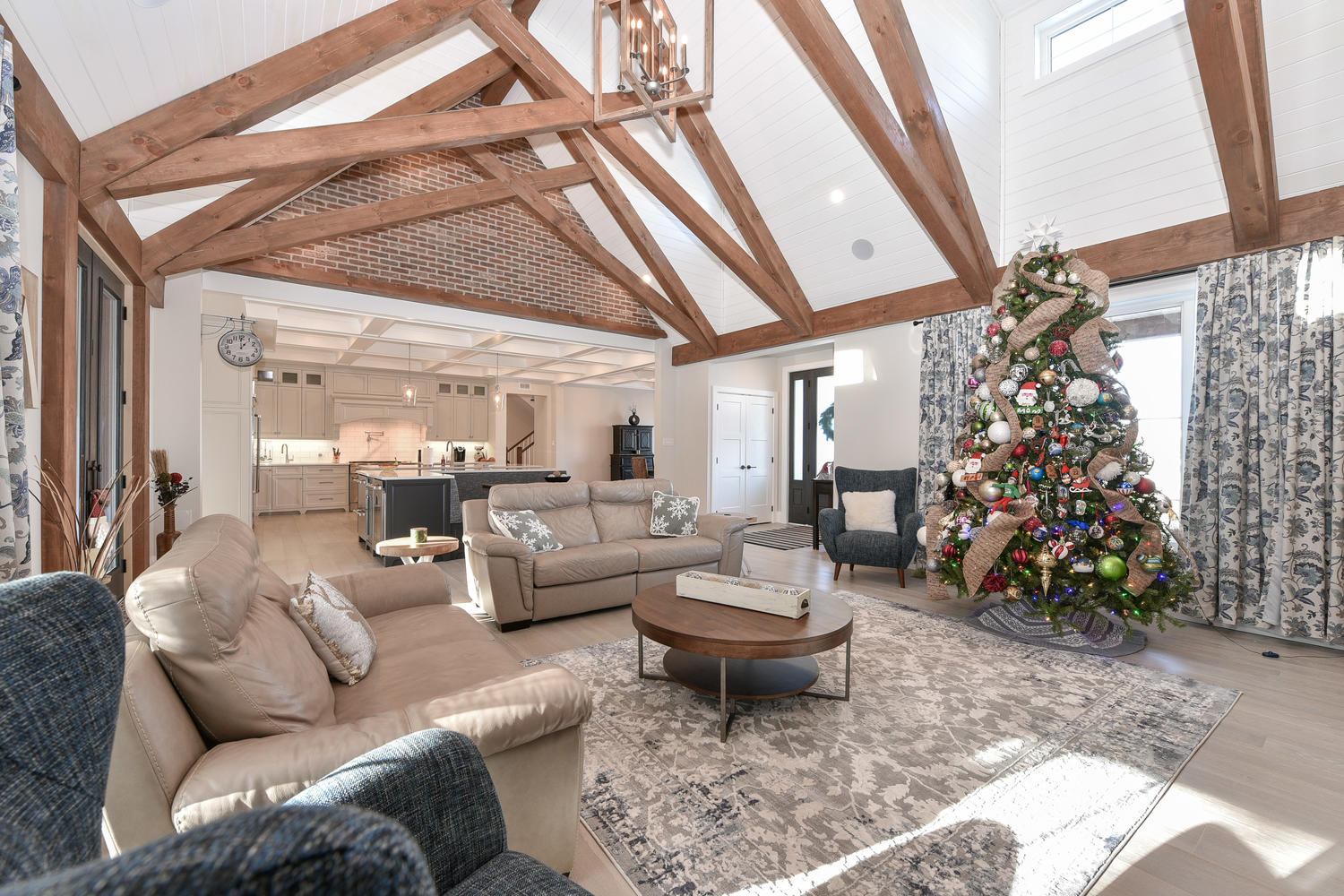 Living Room - Eclectic Country Project In Renfrew
