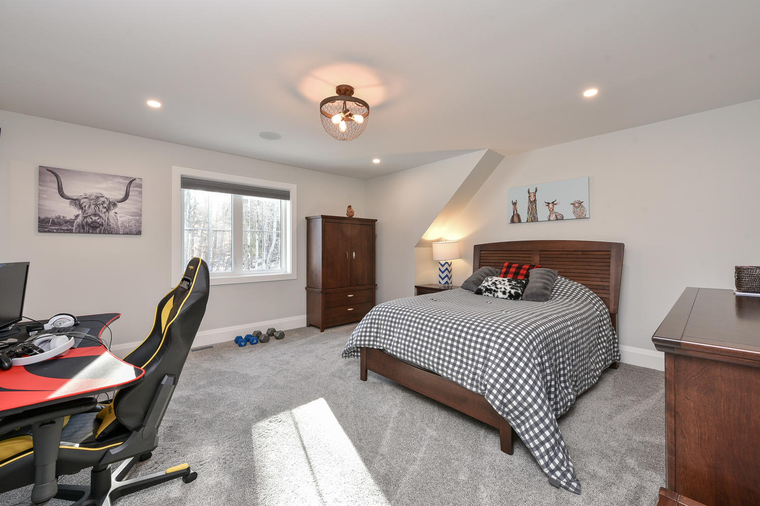 Bedroom - Eclectic Country Project In Renfrew