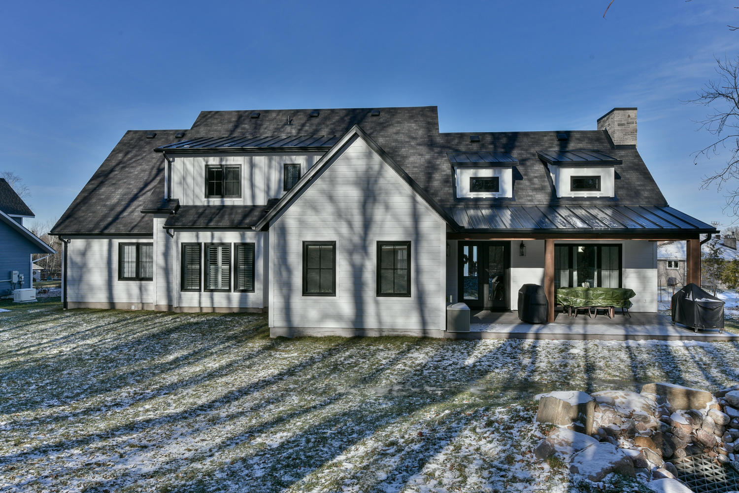 Exterior - Eclectic Country Project In Renfrew