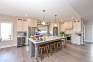 Kitchen - Traditional Family Home Project In Renfrew by Kelly Homes Inc.